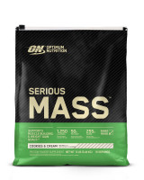 Гейнер Optimum nutrition Serious Mass, печенье, 5450 г
