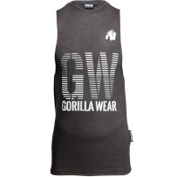 "Безрукавка для бодибилдинга Gorilla Wear ""Dakota"" Tank Top, темно-серая"