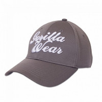 "Бейсболка для бодибилдинга Gorilla Wear ""Flex"" Cap, серая"