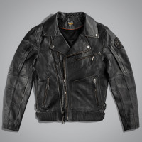 Куртка мужская UNCS VINTAGE JACKET LEATHER Черный