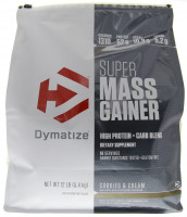 Гейнер Dymatize Nutrition Super Mass Gainer, ваниль, 5443 г
