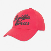 "Бейсболка для бодибилдинга Gorilla Wear ""Flex"" Cap, красная"
