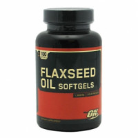 Omega Optimum Nutrition Flaxseed Oil 100 капс.
