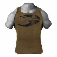 Майка GASP Original Ribbed Tank, Military olive