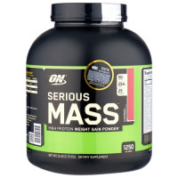 Гейнер Optimum nutrition Serious Mass, клубника, 2727 г